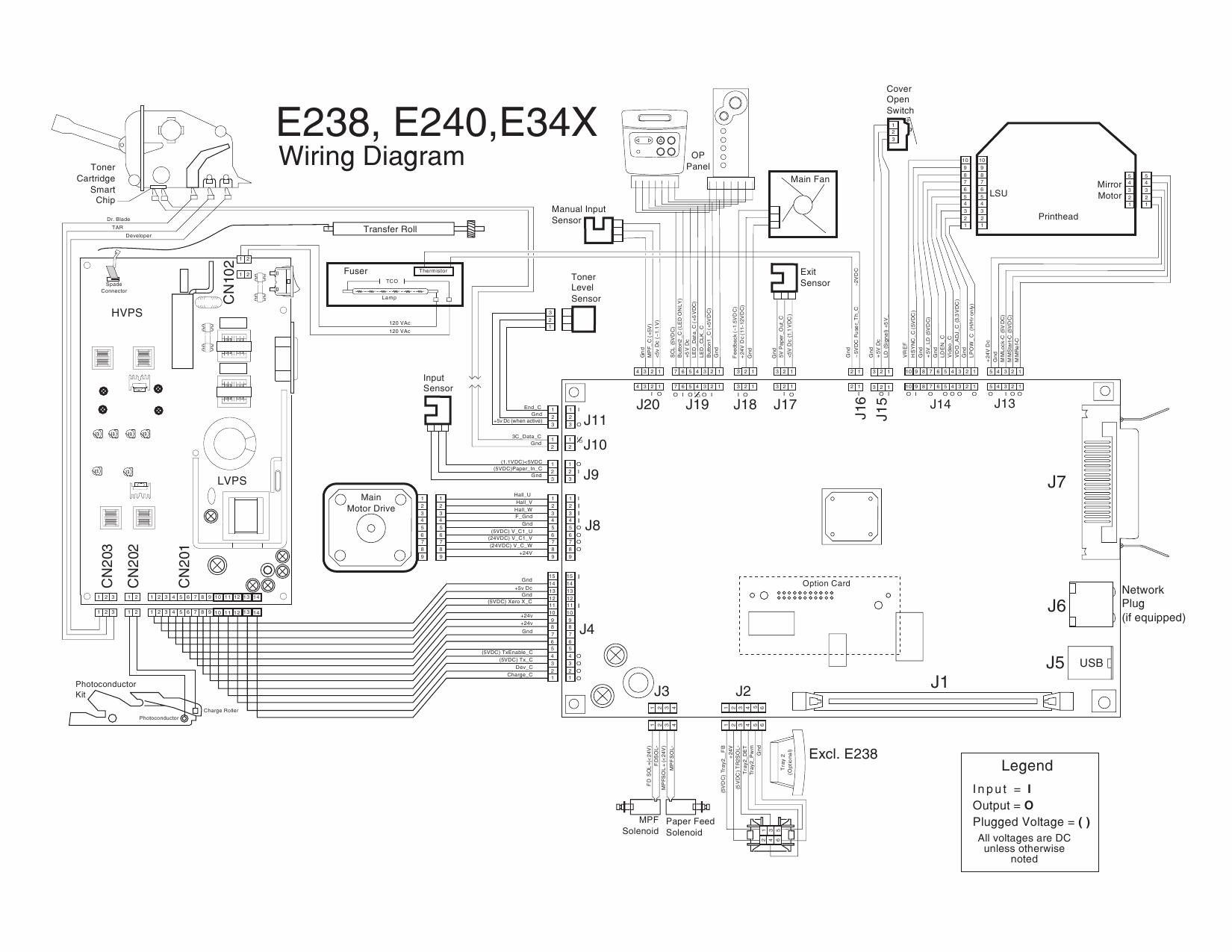 lexmark e e238 e240 e240n e340 e342n 4511 service manual